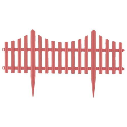 Забор декоративный PALISAD Гибкий, коралловый, 3 х 0.24 м