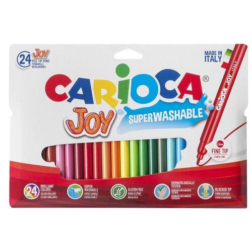 Купить Carioca Набор фломастеров Joy (40532), 24 шт., Фломастеры и маркеры