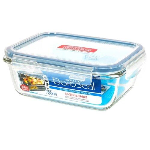 Lock & Lock Контейнер прямоугольный пищевой OvenGlass LLG430 прозрачный