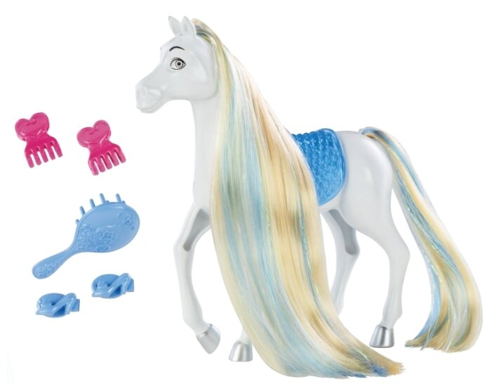 Mattel Лошадь Золушки Создай прическу (BDJ54)