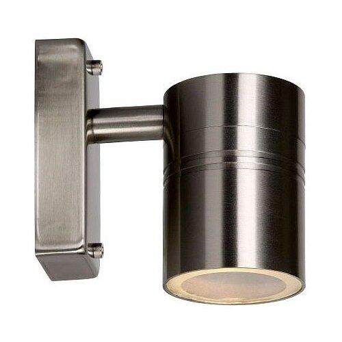 lucide mamba 09400 23 12 22 5 вт Lucide Уличный настенный светильник Arne-LED 14867/05/12, GU10, 5 Вт, цвет арматуры: хромовый, цвет плафона серебристый