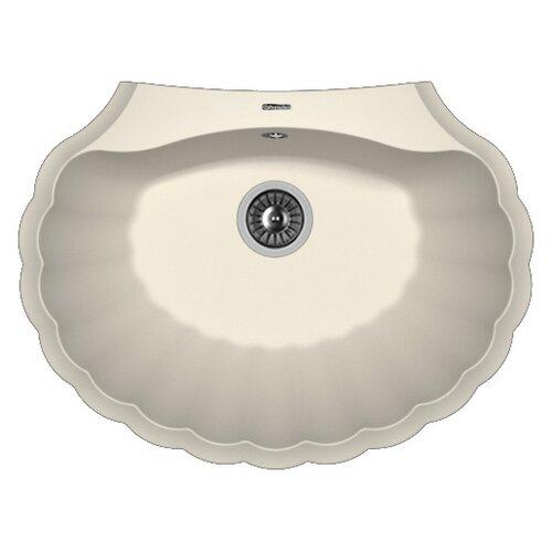Фото - Врезная кухонная мойка 69.5 см FLORENTINA Гребешок жасмин врезная кухонная мойка 69 5 см florentina гребешок мокко