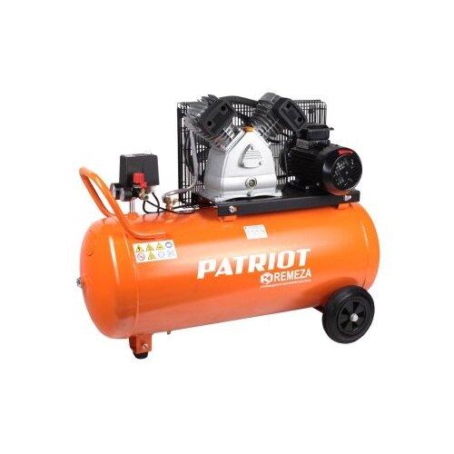 Компрессор масляный PATRIOT REMEZA СБ 4/С- 100 LB 30, 100 л, 2.2 кВт компрессор ременной patriot remeza сб 4 с 100 lb 30 a