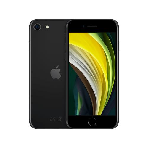 Смартфон Apple iPhone SE (2020) 64GB черный (MX9R2RU/A) смартфон apple iphone xs 64gb gold mt9g2ru a
