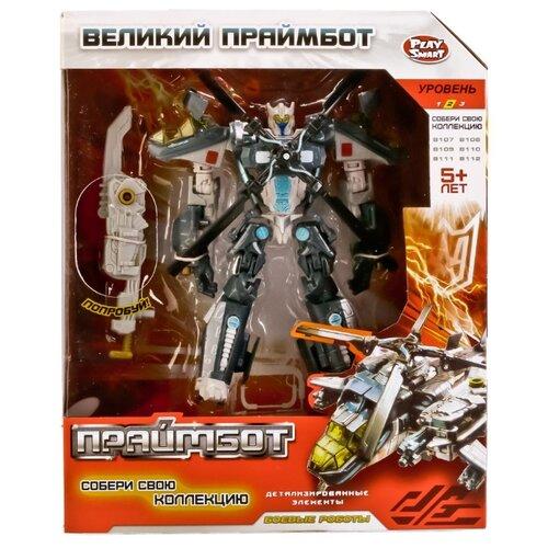 Купить Трансформер Play Smart Великий Праймбот 8111 синий/серый, Роботы и трансформеры