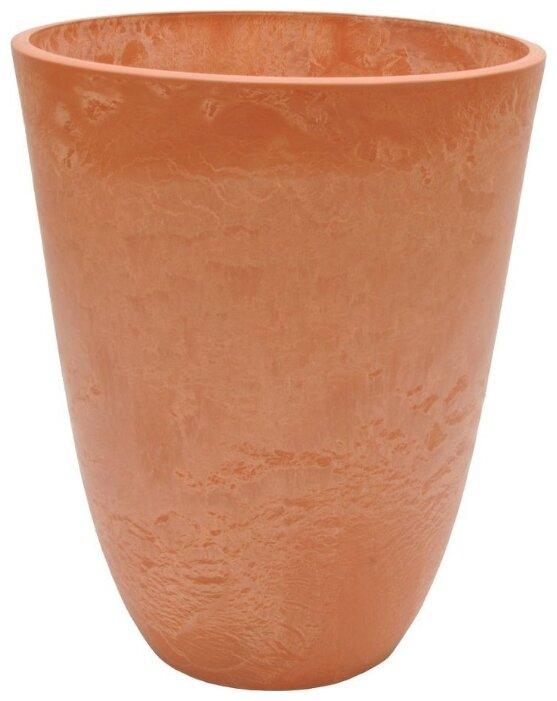 Кашпо для цветов Prosperplast RATO TUBUS DRTUS300-440U венге 2 предмета 15 и 27л
