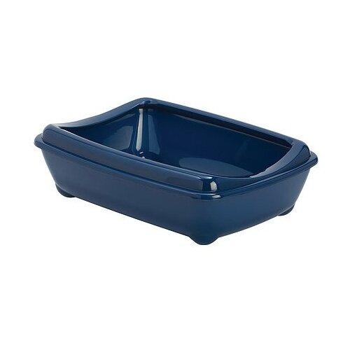 Туалет-лоток для кошек Moderna Arist-O-Tray Large 49.5х37.8х13.5 см черничный