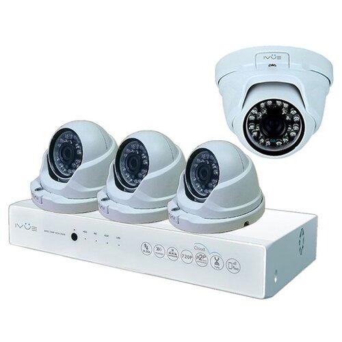 цена на Комплект видеонаблюдения IVUE D5004-AHC-D4 4 камеры