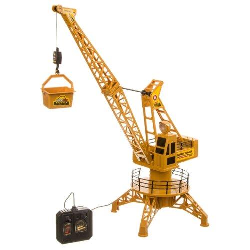 Купить Подъемный кран BONDIBON ВВ4089 22 см желтый, Радиоуправляемые игрушки