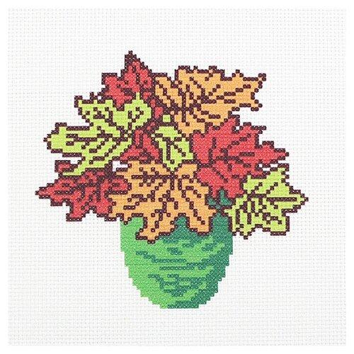 Hobby & Pro Набор для вышивания Осенний букет 22 х 22 см (ПК-181)
