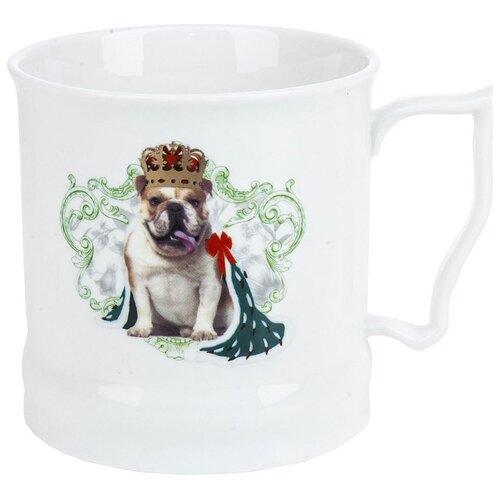 Polystar collection Кружка Королевские собаки 485 мл белый банки 400 мл polystar