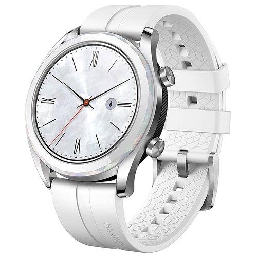 Умные часы c GPS HUAWEI Watch GT Elegant белый умные часы c gps huawei watch gt classic коричневый