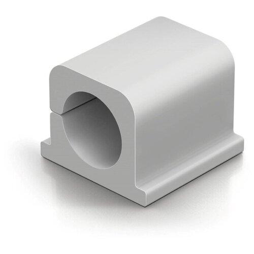 Фиксатор для кабеля до 12мм DURABLE CAVOLINE® CLIP PRO 2 серый 4шт./уп.