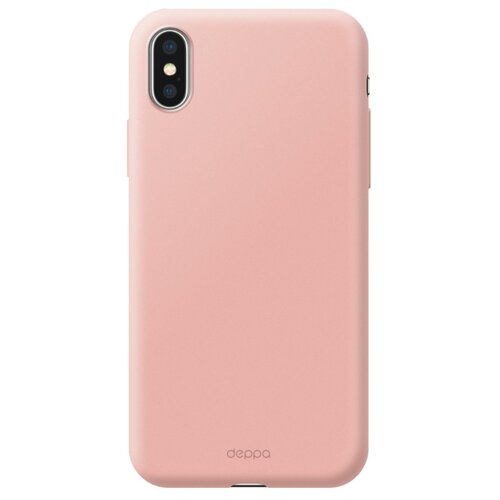 Фото - Чехол-накладка Deppa Air Case для Apple iPhone Xs Max розовое золото чехол deppa air case для apple iphone x xs золотой 83322