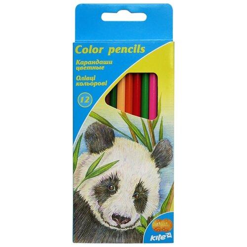 Купить Kite цветные карандаши Животные, 12 цветов (K16-053), Цветные карандаши