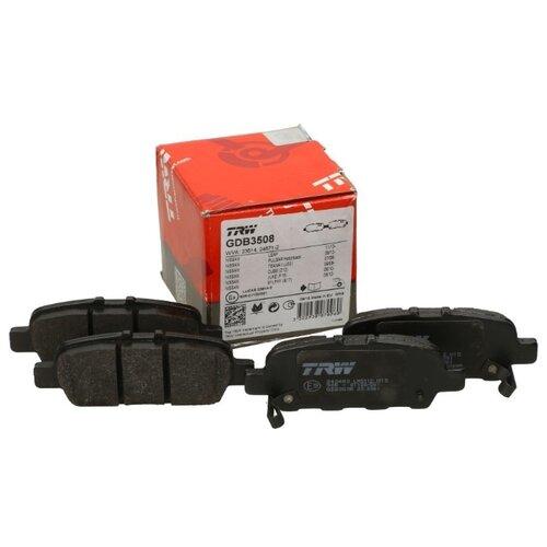 Дисковые тормозные колодки задние TRW GDB3508 для Nissan (4 шт.) фото