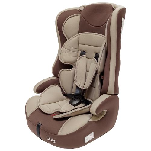 Купить Автокресло группа 1/2/3 (9-36 кг) Мишутка LB 513RF, 55 beige/brown, Автокресла