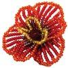 Hobby & Pro Набор для бисероплетения Брошь 'Цветочек аленький' БП-107