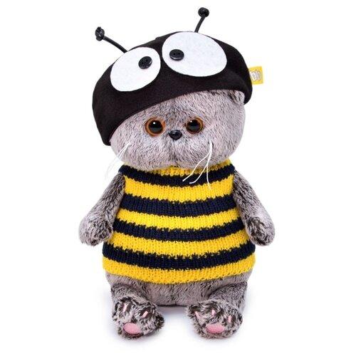 Мягкая игрушка Basik&Co Басик baby в костюме пчёлки 20 см