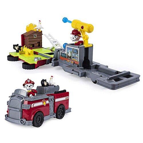 Купить Игровой набор Spin Master Paw Patrol Спасательная станция - трансформер Маршал 6046797-Mar, Игровые наборы и фигурки