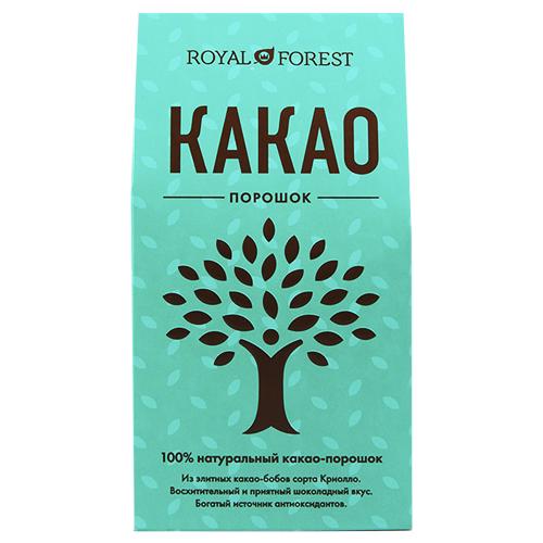 цена на ROYAL FOREST Какао-порошок, 200 г