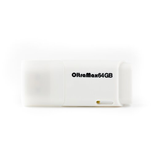 Фото - Флешка OltraMax 240 64GB white флешка oltramax 50 8gb white