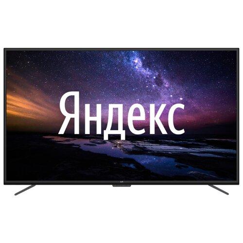 Телевизор Leff 50U610S 50 (2020) на платформе Яндекса черный led телевизор leff 32h510t smart tv 31 5