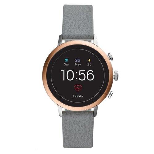 Умные часы FOSSIL Gen 4 Smartwatch Venture HR (silicone), grey