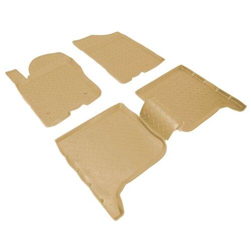 Комплект ковриков NorPlast NPL-Po-33-75 4 шт. бежевый