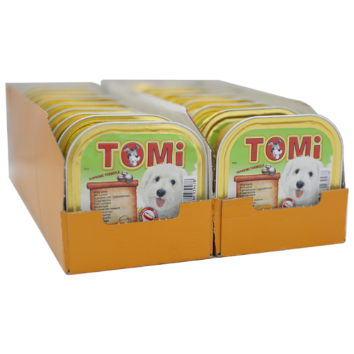 Влажный корм для собак ToMi ягненок 18шт. х 300г- преимущества, отзывы, как заказать товар за 3038 руб. Бренд ToMi
