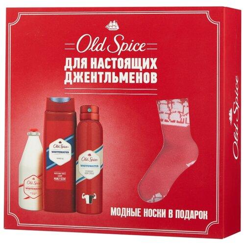 Набор Old Spice Whitewater old spice твердый дезодорант whitewater 50мл