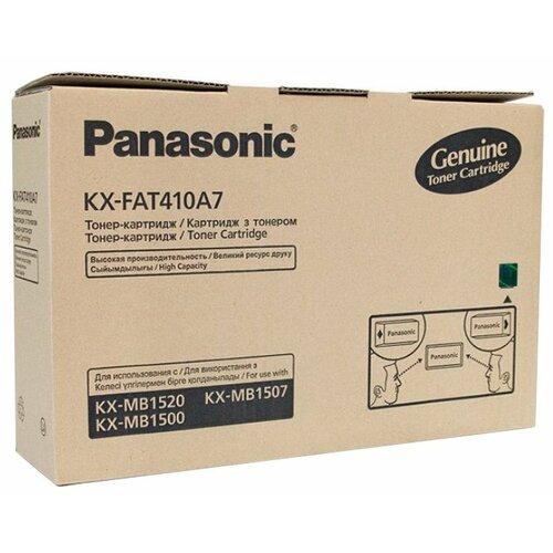 Фото - Картридж Panasonic KX-FAT410A7 картридж cactus cs fat410a для panasonic kx fat410a7 mb1500 mb1507 mb1520 черный 2500стр