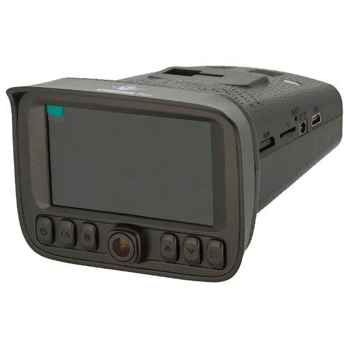 Видеорегистратор с радар-детектором Stonelock Fogu, 3 камеры, GPS черный