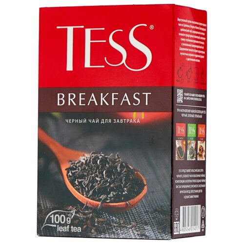 Чай черный Tess Breakfast , 100 г чай черный tess pleasure с