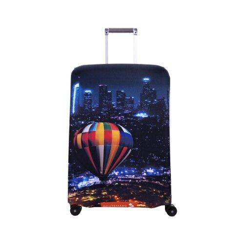 Чехол для чемодана ROUTEMARK Megapolis SP240 M/L, разноцветный чехол для чемодана routemark inmotion размер m l 65 74 см