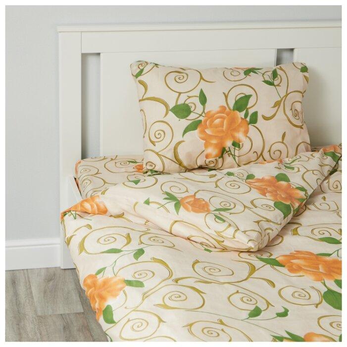 Постельное белье 1.5-спальное ТДЛ Текстиль 162664 микрофибра