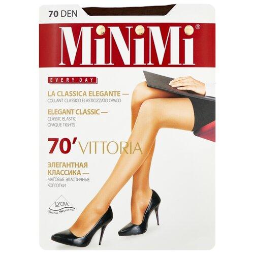 Колготки MiNiMi Vittoria 70 den, размер 5-XL, cappuccino (коричневый) колготки minimi vittoria 20 den размер 5 xl cappuccino коричневый