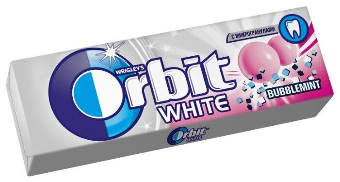 Жевательная резинка Orbit White Bubblemint, без сахара 13,6 г