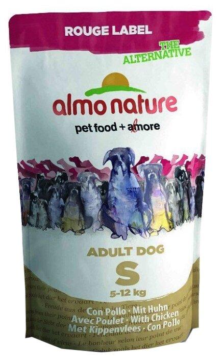Корм для щенков Almo Nature Rouge Label курица 750г (для мелких пород)