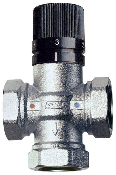 Трехходовой смесительный клапан термостатический FAR 3950 34 муфтовый (ВР), Ду 20 (3/4