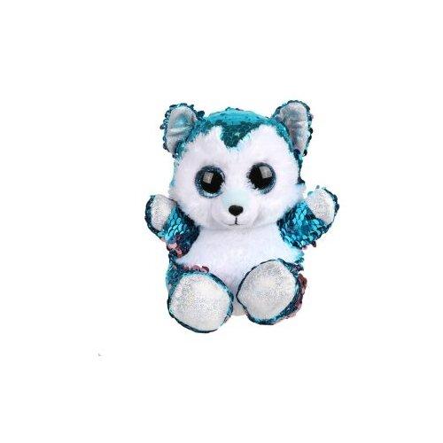 цена на Мягкая игрушка Fluffy Family Щенок из пайеток 15 см