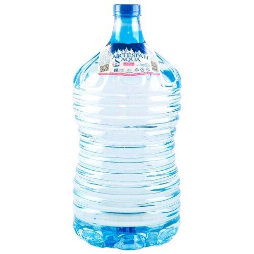 Вода Artesian aqua артезианская негазированная ПЭТ для кулера, 9 л раковина мебельная de aqua лонг 140 new wl 140