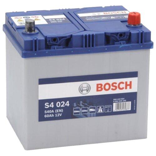 Фото - Автомобильный аккумулятор Bosch S4 024 (0 092 S40 240) автомобильный аккумулятор bosch s4 002 0 092 s40 020