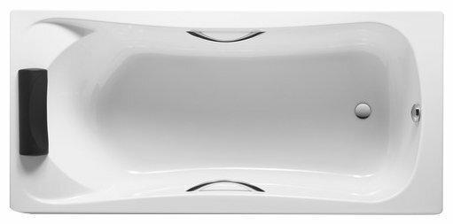 Ванна Roca BeCool 180x80 ZRU9302782 без гидромассажа акрил