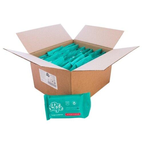 Влажные салфетки Dr. Safe антисептические с ментолом, 15 шт., 30 уп.