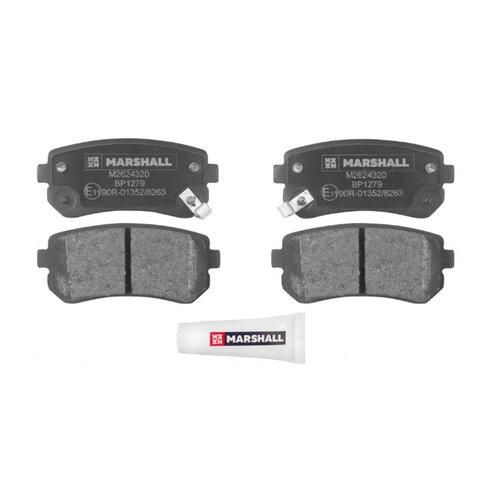 Дисковые тормозные колодки задние Marshall M2624320 для Kia Ceed, Kia Sportage, Kia Rio (4 шт.)