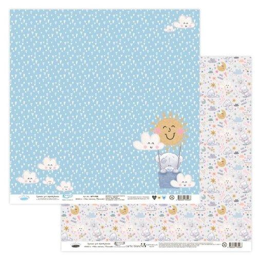 Купить Бумага Mr. Painter 30, 5x30, 5 см, 10 листов, MTY-PSR 190601 Наш малыш. Мальчик №4 голубой/розовый, Бумага и наборы