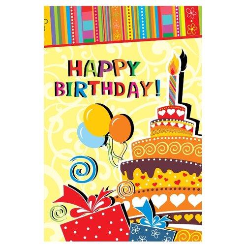 Открытка ND Play Happy Birthday! (273797), 1 шт. открытка nd play happy birthday 273797 1 шт