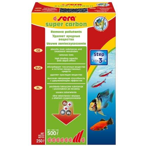 Наполнитель Sera Super Carbon 250 г черный unipak смазка super glidex 250 г