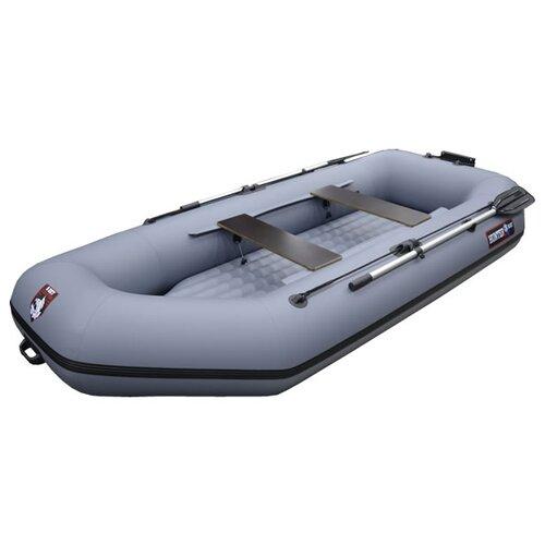 Надувная лодка HUNTERBOAT Хантер 300 ЛТН серый